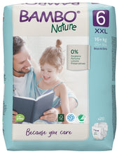 Bambo Nature Eco Nappies - Size 6 (35-66lbs/16-30kg)