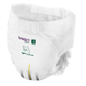 Bambo Nature Eco Nappies - Size 6 Tall Pack (35-66lbs/16-30kg)