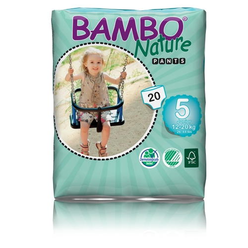 Bambo Nature Junior Training pants 12-20Kg