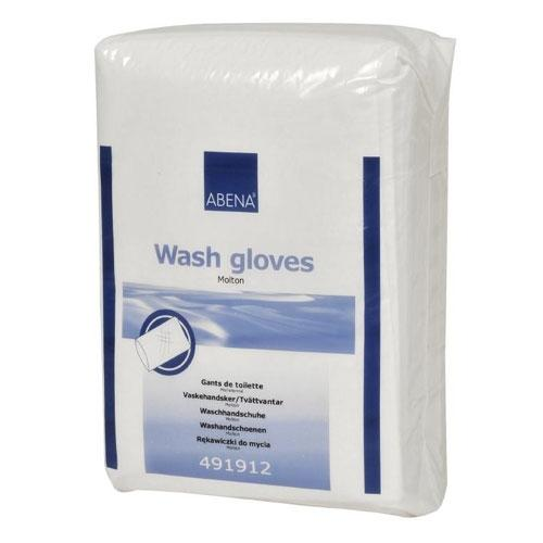Wash gloves Molton