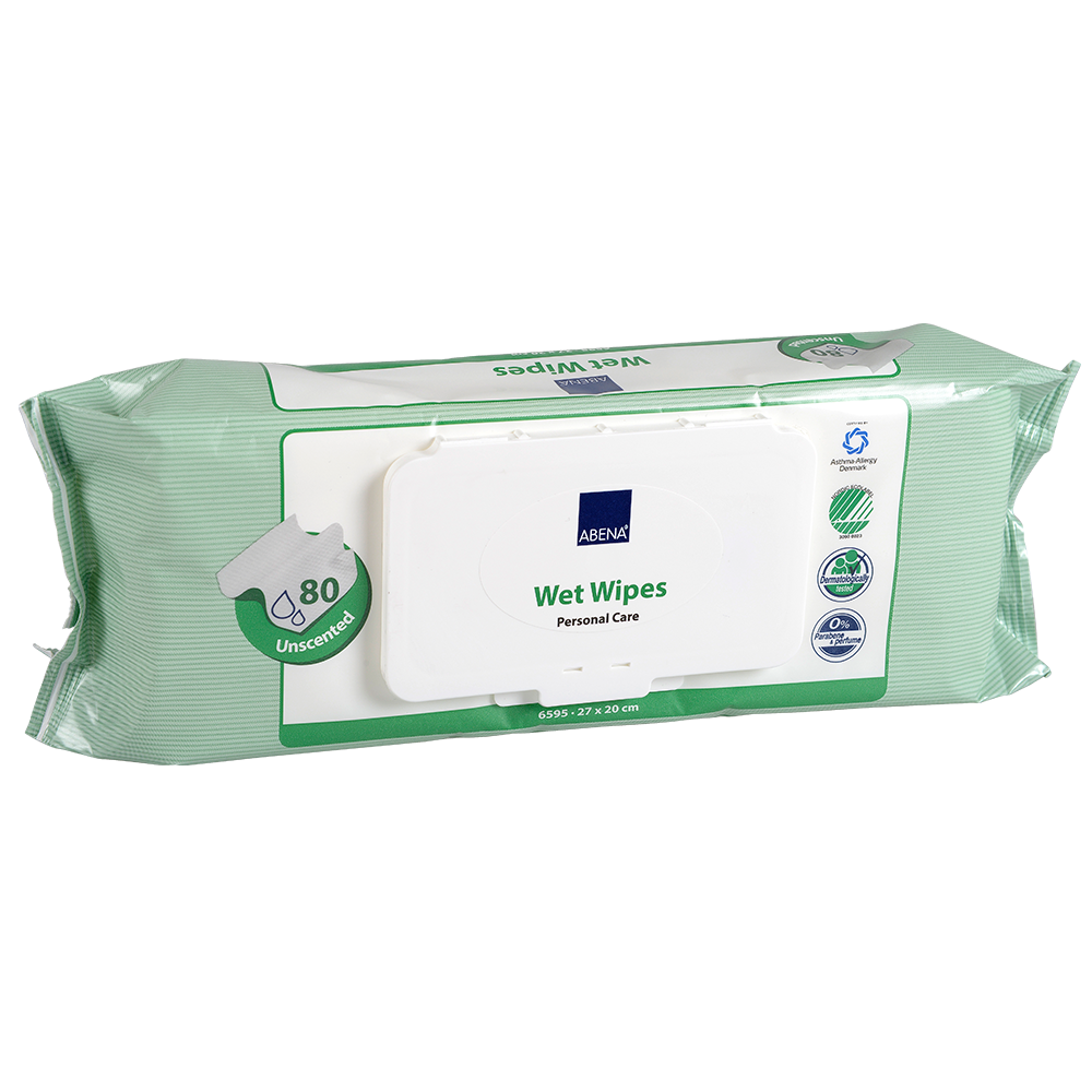 Wet Wipes - Plastic Lid Long Pack