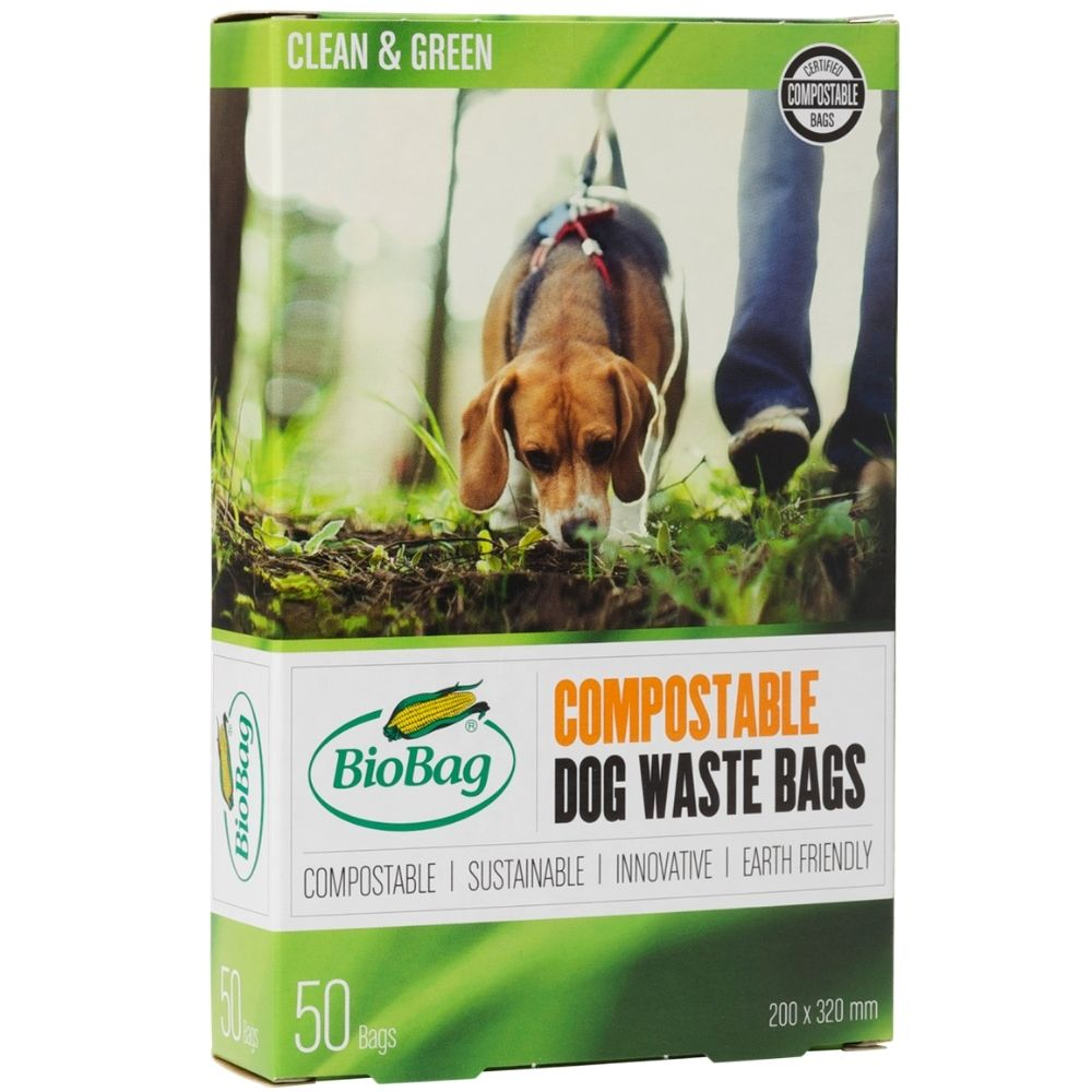Bio dog waste bag, 20x30 cm - Black