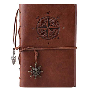 Refillable, Spiral Travel Journal