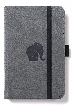 Leather Elephant Pocket Notebook