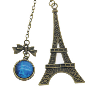 Vintage Eiffel Tower Metal Bookmarks