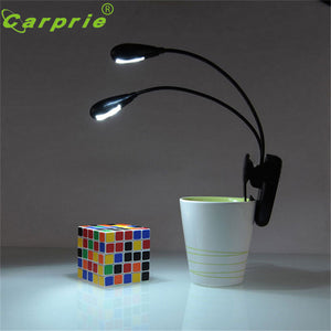 Super Adjustable Goosenecks Clip on LED Lamp for Music and Book Reading Stand