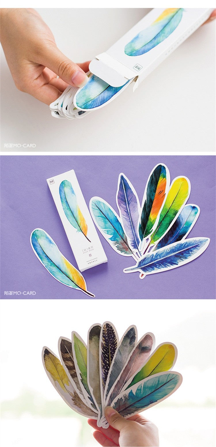 Colorful And Original Nature flyer paper bookmark
