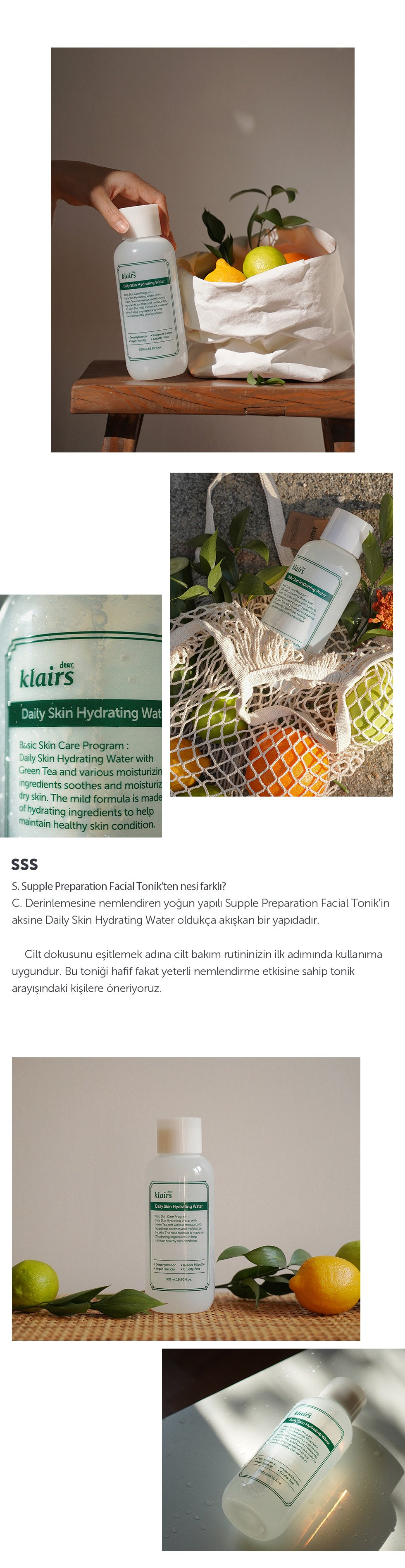 [Klairs] Daily Skin Hydrating Water TR-3