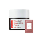 (W01-Tester) By Wishtrend - Vitamin 75 Maximizing Cream 1.5ml Krem Korendy Kore Kozmetik Kbeauty Cilt Bakım