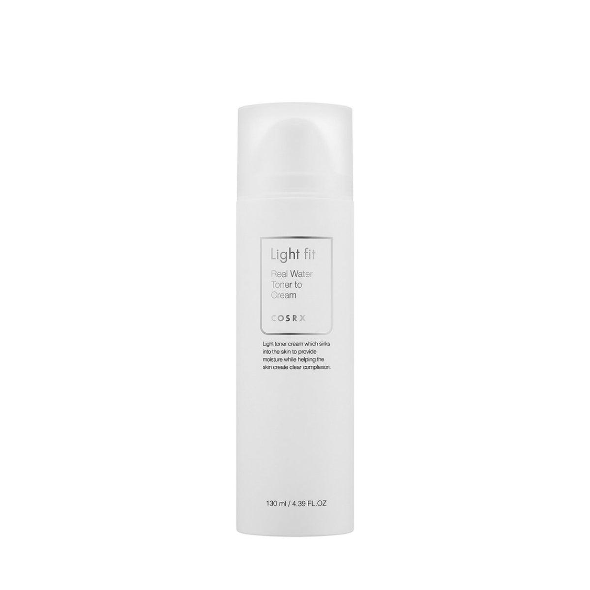 Cosrx - Light Fit Real Water Toner to Cream 130ml