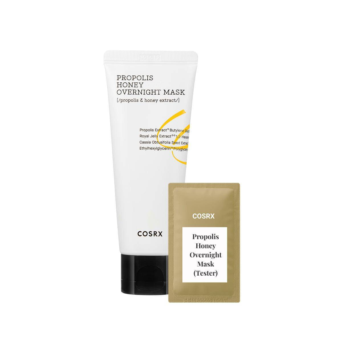 (C09-Tester) Cosrx - Ultimate Moisturizing Honey Overnight Mask 1ml Gece Maskesi Korendy Türkiye Turkey Kore Kozmetik Kbeauty Cilt Bakım