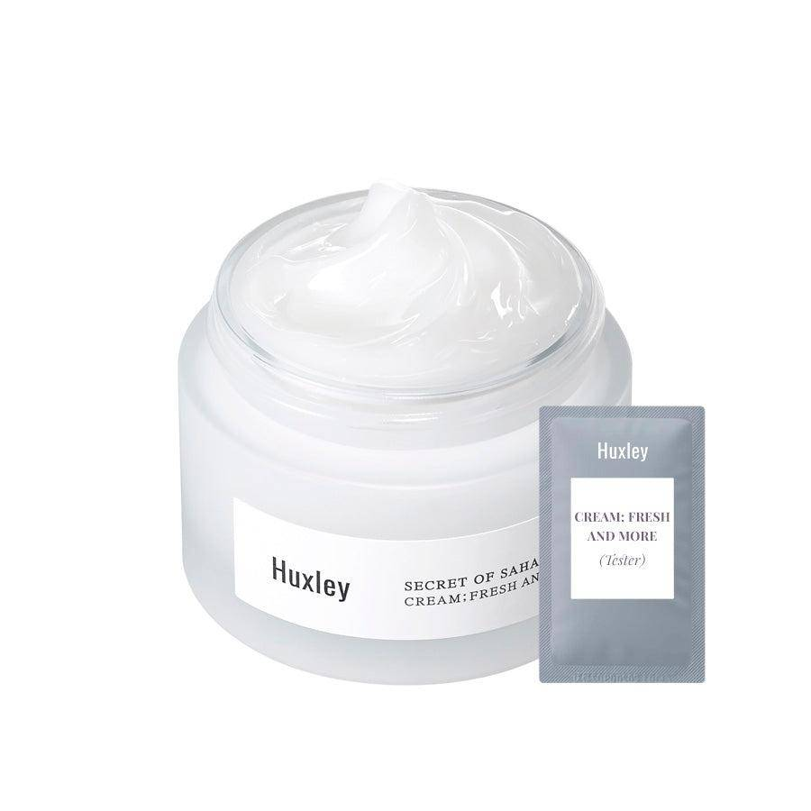 (H05-Tester) Huxley - Cream; Fresh and More 1ml Krem Korendy Türkiye Turkey Kore Kozmetik Kbeauty Cilt Bakım