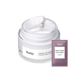 (H09-Tester) Huxley - Cream ; More Than Moist 1ml Krem Korendy Türkiye Turkey Kore Kozmetik Kbeauty Cilt Bakım