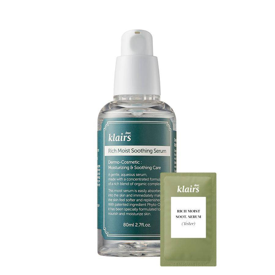 (K03-Tester) Klairs - Rich Moist Soothing Serum 3ml