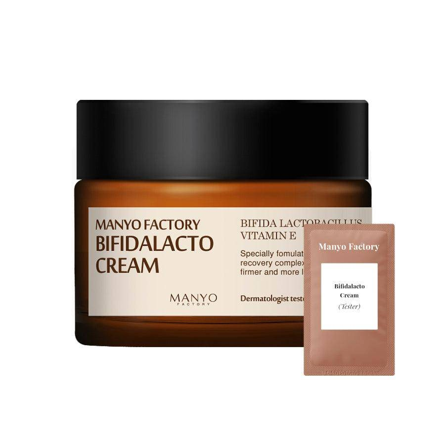 (M06-Tester) Manyo Factory - Bifidalacto Cream - Total Care Cream 1.5ml