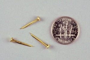 2-1/2 oz. BRASS Hand Shoe Tacks (1/2 lb.)