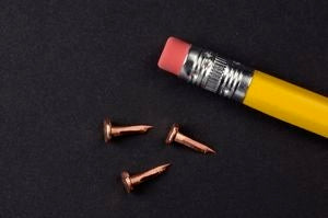 3 oz. COPPER Upholsterers Tacks (1/2 lb.)