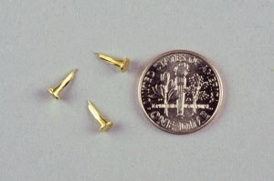 8/32 BRASS Hand Shoe Tacks (1 lb.)