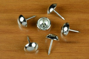 "1/2"" #9 Nickel Plated Furniture Nails (100 pc.)"