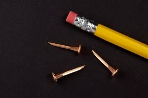 14 oz. COPPER Upholsterers Tacks (1/2 lb.)