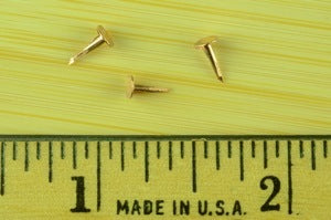 2 oz. COPPER Shaker Box Tacks (1/4 lb.)