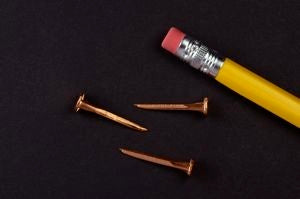 18 oz. COPPER Upholsterers Tacks (1/2 lb.)