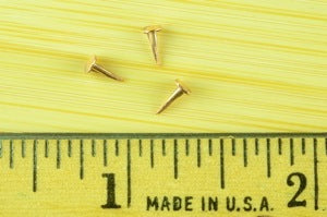 1-1/2 oz. COPPER Shaker Box Tacks (1/2 lb.)