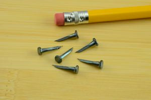 6 oz. Upholsterers Tacks - Blued (1/2 lb.)