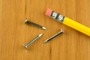 7/8 13ga. Wire Spring-Up Nails (1/2 lb.)
