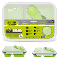 Home Puff Collapsible Lunch Box (1200 ml)