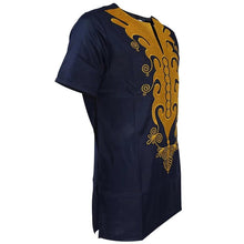 Load image into Gallery viewer, Embroidered Couple clothing african wear men and women dashiki tops and dress no pant-FrenzyAfricanFashion.com