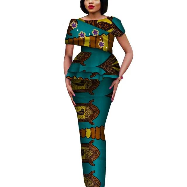 Fashion African Elegant Tops and Long Skirt Bawa Style #1-FrenzyAfricanFashion.com