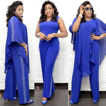 Load image into Gallery viewer, Jumpsuit Overall Set Dress Women Sequined Baggy Pants-FrenzyAfricanFashion.com
