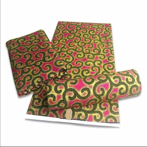 Image of Denzel Collection African Ankara 6yards Fabrics-FrenzyAfricanFashion.com