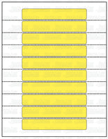 FD-331: RV cargo carrying capacity labels. Laser imprintable. 6 options. Pack of 100.