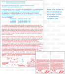 FD-401: Truck camper data sheet. RVIA required. Laser imprintable. Pack of 100.