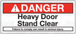 HA2067: Heavy door. Pack of 100.