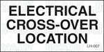 LH-007: Electrical cross over location. Pack of 100.