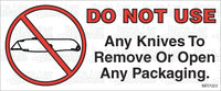 MR7023: Do not use knives to open packaging. Pack of 50.
