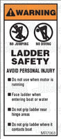 MR7063: Ladder safety list. Pack of 50.