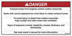 MR7078: Carbon monoxide warning. Canvas deployed. Pack of 50.