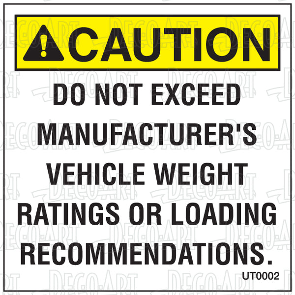 UT0002: Do not exceed mfg recommended. Pack of 100.