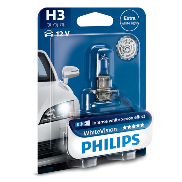 Philips 12V H3 Whitevision