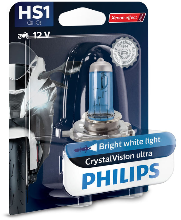 Philips HS1 CRYSTAL VISION ULTRA MOTO 12636BVBW
