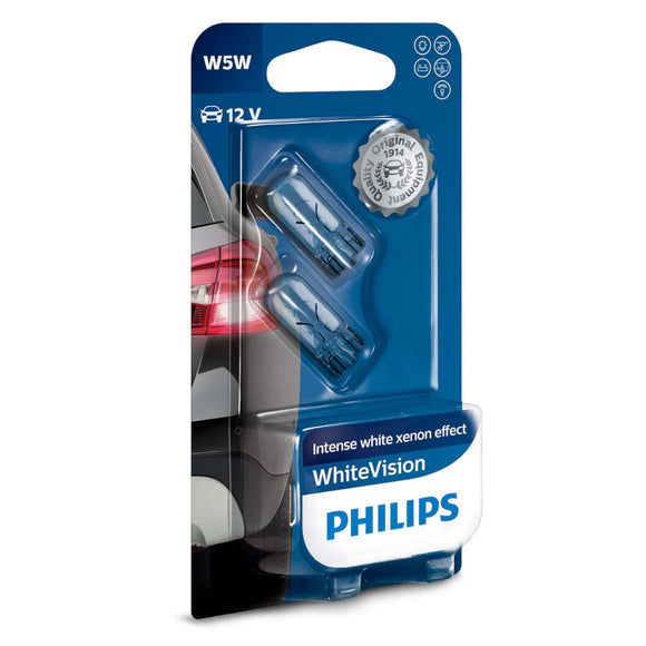 Philips 12V W5W Whitevision