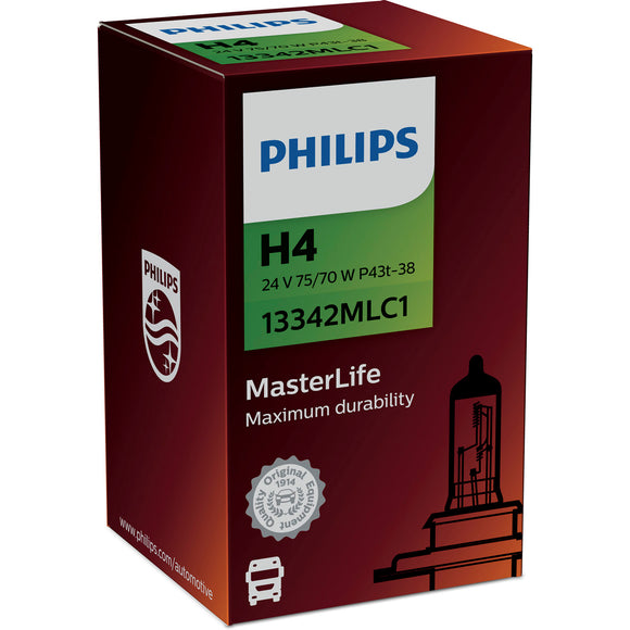 Philips 24V H4 MasterLife 13342MLC1