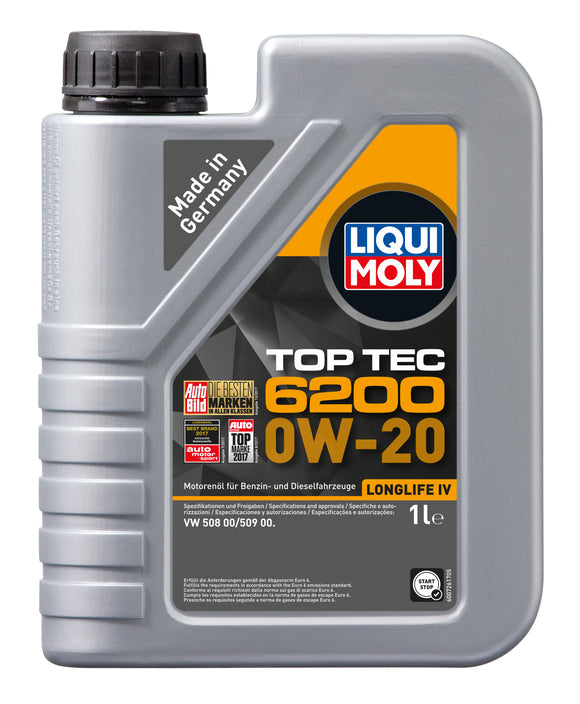 Liqui Moly Top Tec 6200 0W-20 1000ml