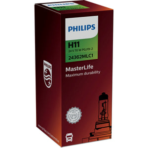 Philips 24V H11 MasterLife 24362MLC1
