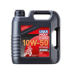 Liqui Moly Motorbike 4T Synth 10W-50 Offroad Race 4000ml