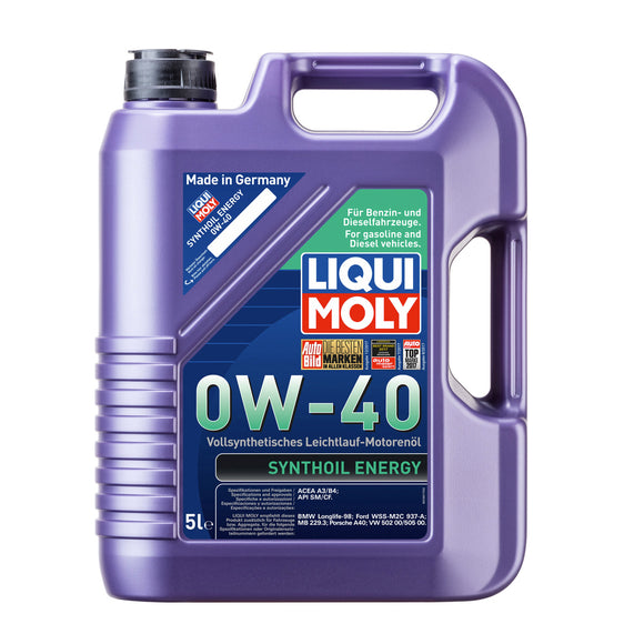 Liqui Moly Synthoil Energy 0W-40 5000ml